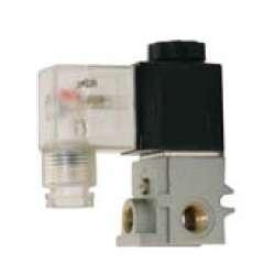 Elektrozawory sterowane bezpośrednio 3/2 NC do montażu blokowego